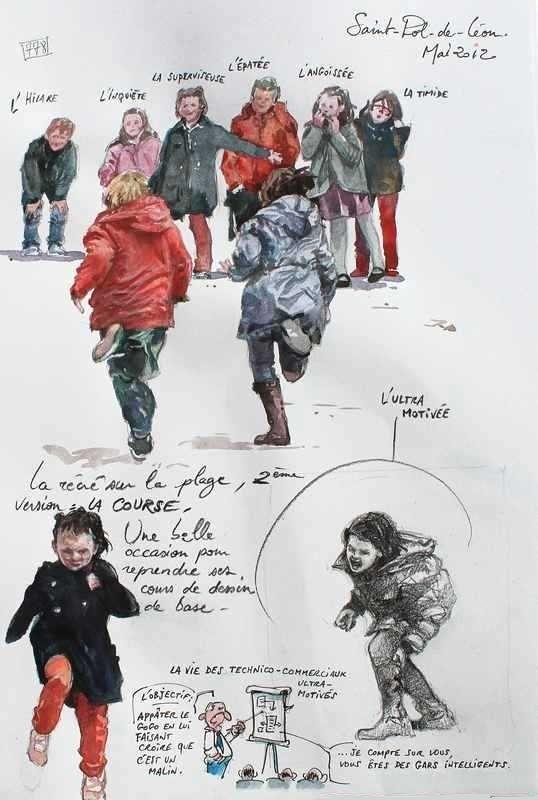 Une Bretagne par les Contours / Saint-Pol-de-Léon from Le blog de gal