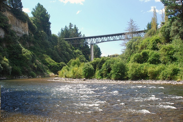 Bridge over the Mohaka River
