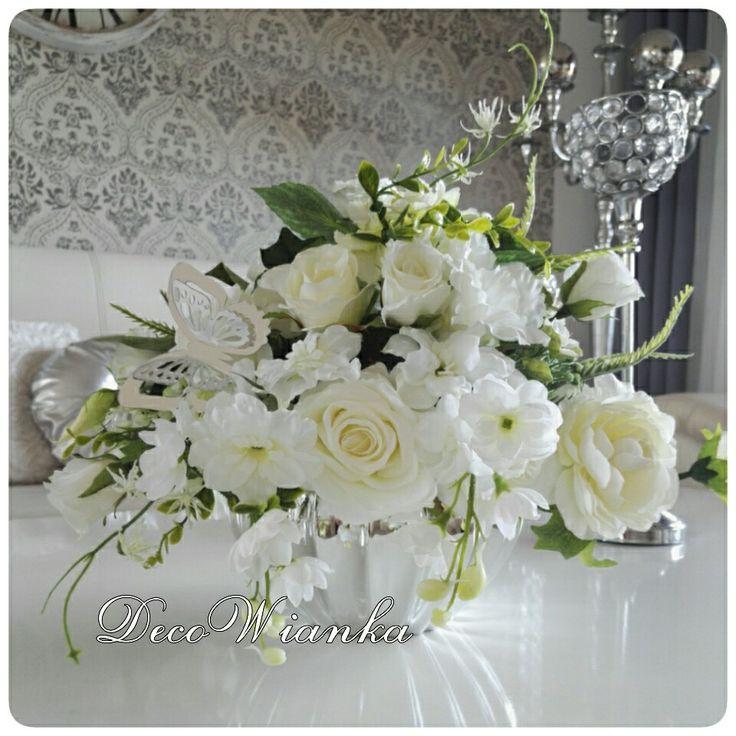 Kompozycja kwiatowa,flower,flower,kwiaty,dekoracje,glamour,