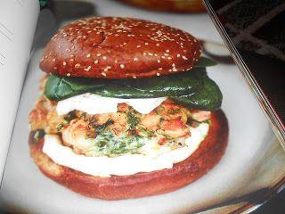 """Le Chef Pierre D'Iberville: Burger """"Saumon et coriandre"""""""