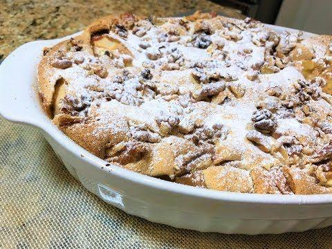 Праздничная КОРОЛЕВСКАЯ ШАРЛОТКА. Изумительный Вкус! Простой рецепт. Pie with Apples - YouTube