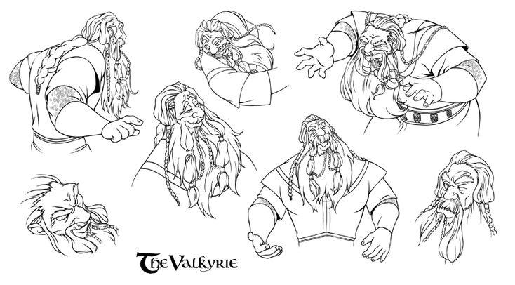 The Valkyrie. Odin by steamey