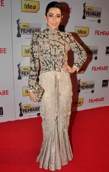 Best dressed: Filmfare Awards 2014 - Karishma Kapoor in Anamika Khanna
