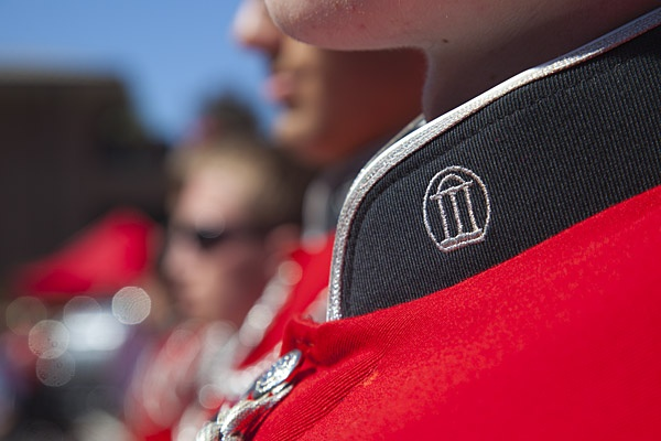 The University of Georgia Redcoat Marching Band is one of the country's premier college marching bands. Originally started in 1905 as a section of the UGA Military Department, the Redcoat Band has grown in the last 100 years from 20 military cadets to over 350 men and women covering almost every major at UGA. Although most Bulldog fans associate the Redcoat Band with their performances at football games, the band's first non-military performance was at the 1906 Georgia-Clemson baseball game.