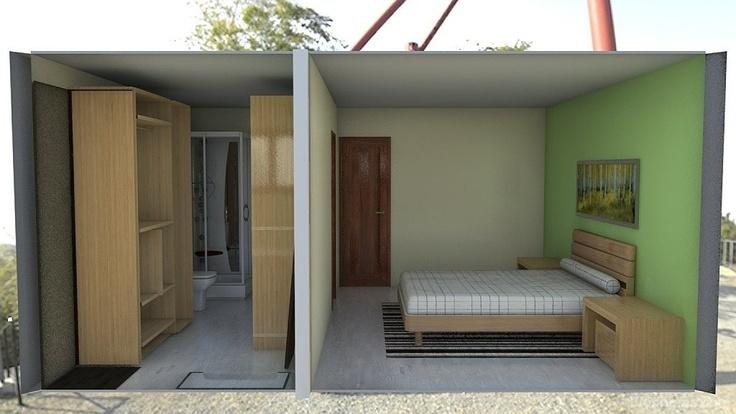 Dormitorio principal con ba o y vestidor o solo for Ideas para decorar una recamara