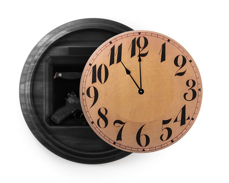 Dimensions and additional info Great idea. Buying it The 1410M Tactical Wall Clock is a surface mounted home defense solution. This product offers lightning fast access to a 14