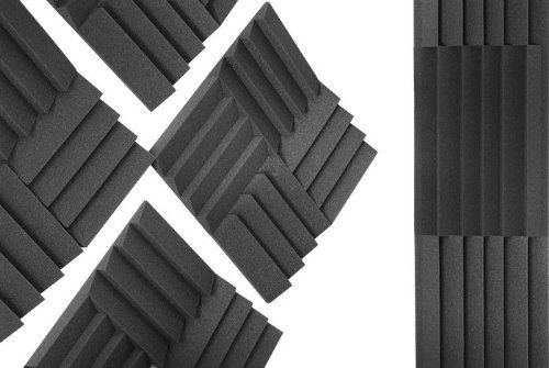 acoustic foam isn't the only way to add sound proofing...