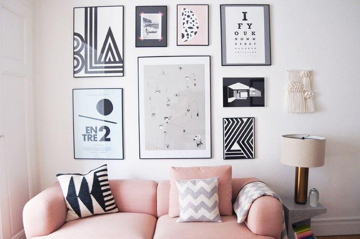 Beatriz Prieto's contemporary cool home on withatouchofsesalt.com