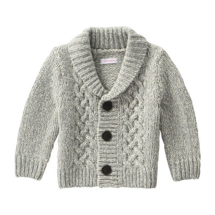 Baby Boys' Cardigan from Joe Fresh. Take his look to a new level of cozy with our latest cardigan. Only $19.