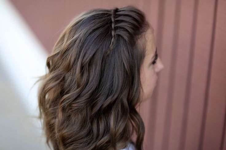 Faux Waterfall Braid Headband