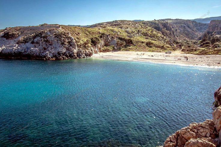 Menies beach. Chania, Crete, Greece