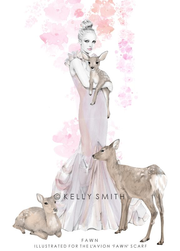 Birdy & Me : Illustrations & Musings by Kelly Smith: fashion illustration