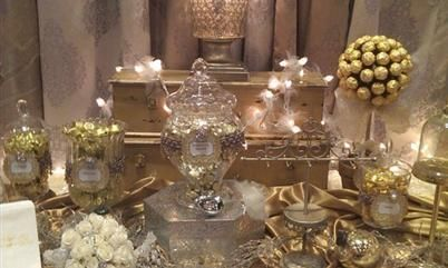 1000 Ideas About Gold Candy Buffet On Pinterest Gold