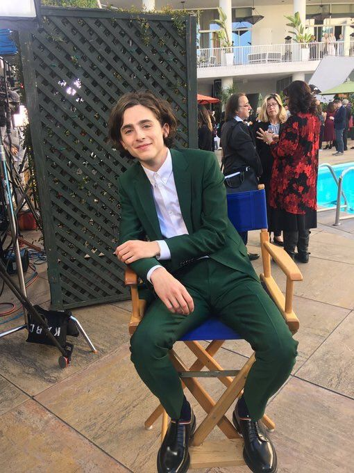 8) News about Timothée Chalamet on Twitter | That Statistics