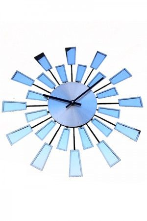 Ribbon Stainless Steel Wall Clock  www.fashiongroop.com