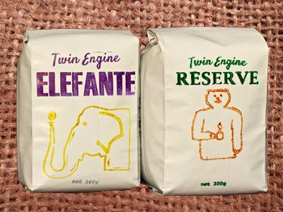 coffees art bags