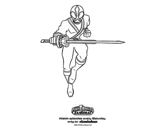 power rangers samurai blue samurai ranger coloring page - Blue Power Rangers Coloring Pages