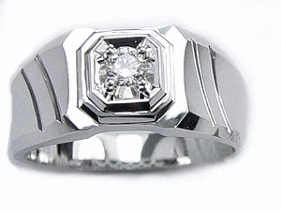 Men's Wedding Ring Diamond Wedding Ring Mens by TemptingJewels
