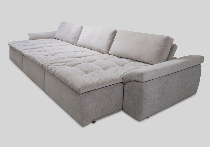 Sofás com alongadores, sofás com chaise longue, sofás com reclináveis, sofás home, sofás modulares / Passion - Bell'Arte