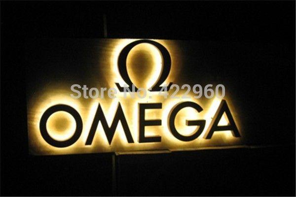 Выход фабрики реклама подсветкой из нержавеющей стали из светодиодов световые буквы-из