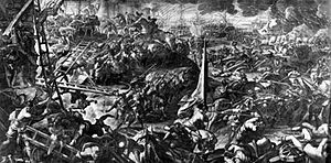 1202 - Despite letters from Pope Innocent III forbidding it and threatening excommunication, Catholic crusaders begin a siege of the city of Zara (now Zadar, Croatia)
