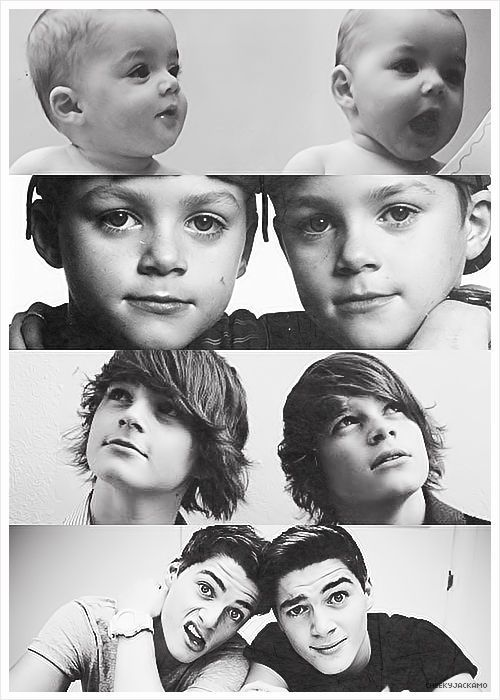 Jack and Finn Harries OMG!!! THEY WERE SO CUTE!!! Still are though. <3 :)