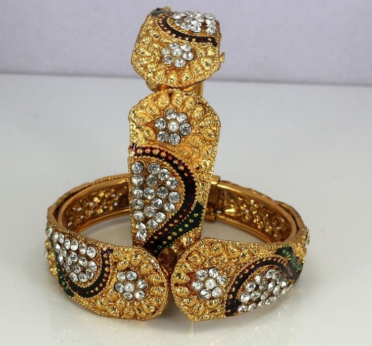 in for sets fashion bangles golden women indian bangle jewelry online metallic set