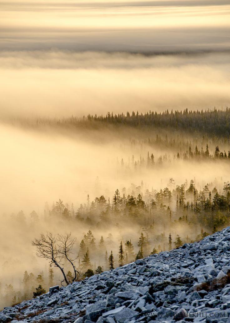 Misty view from Kellostapuli