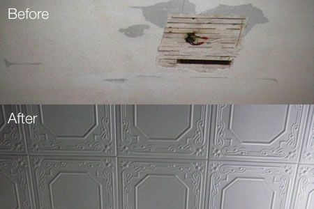 foam ceiling tiles, this site has a calculator to show how many tiles you will need