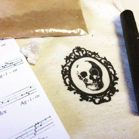 Black Mass Ritual Bag by Seven Spheres