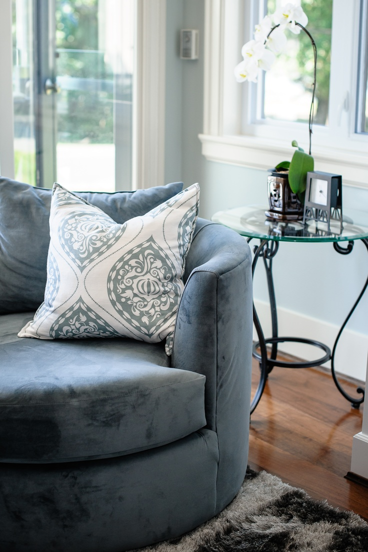 Cuddle Chair - Secondary Seating option - Designs by The Spotted Frog Furniture Company