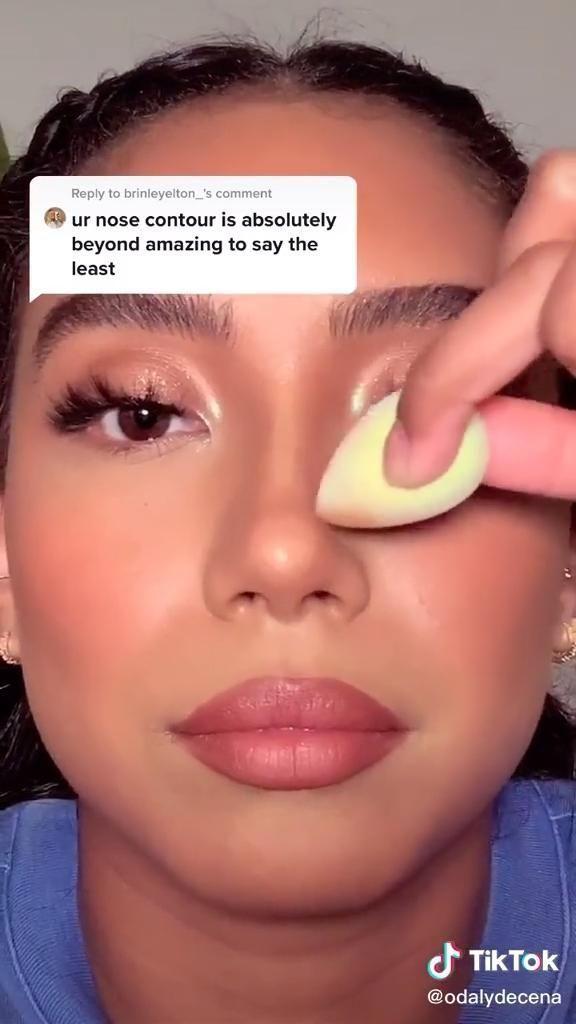 Odaly On Tiktok In 2020 Makeup Tutorial Makeup Techniques Nose Makeup