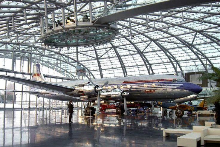Referenzen - Stahl-Glas-Technik - Sparten - Waagner Biro Hangar-7, Salzburg, Austria; Red Bull