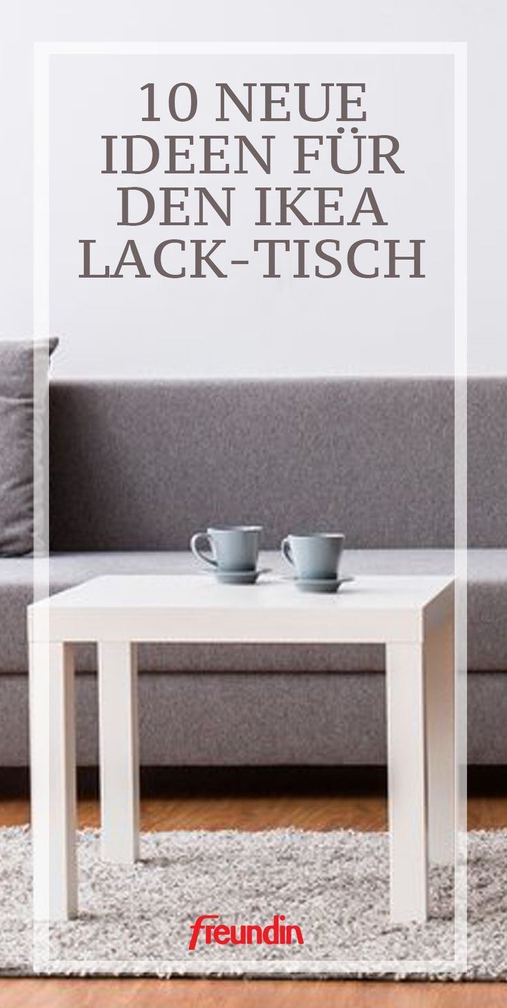 Ein kleiner Ikea Tisch, der noch so viel mehr kann