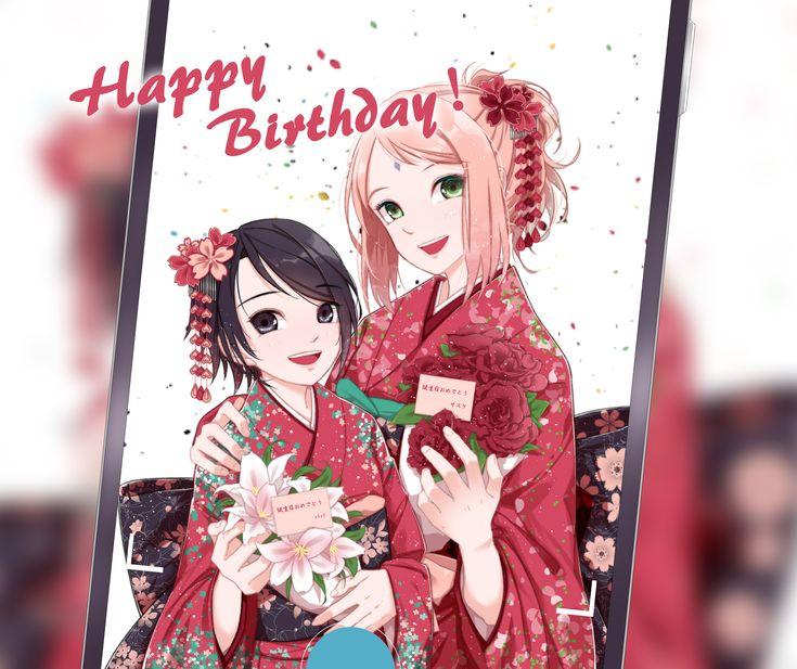 Sarada and Sakura