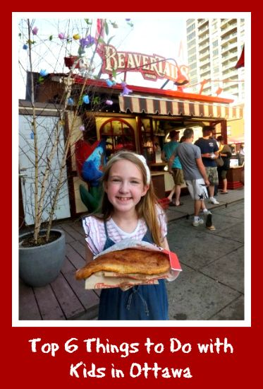 Ottawa with kids - Eating a BeaverTail in ByWard Market...my favorite is meeting a rcmp on parliament hill. ;)