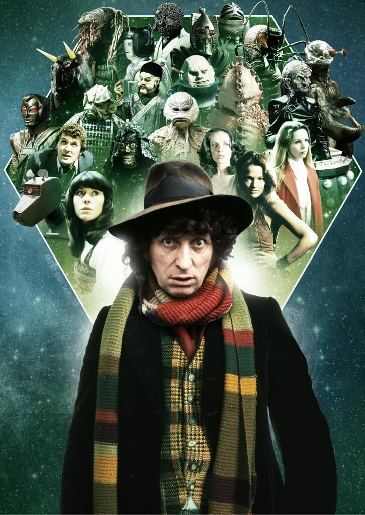 """Fourth Doctor - Thomas Stewart """"Tom"""" Baker (born 20 January 1934) is an English actor. He is best known for his role as the fourth incarnation of the Doctor in the science fiction television series Doctor Who, which he played from 1974 to 1981."""