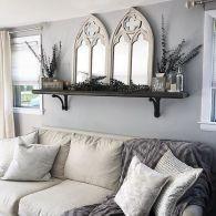 +25 The Secrets Of Above Couch Wanddekor Bauernspiegel aufgedeckt 74 – #abovec …, #abovec …