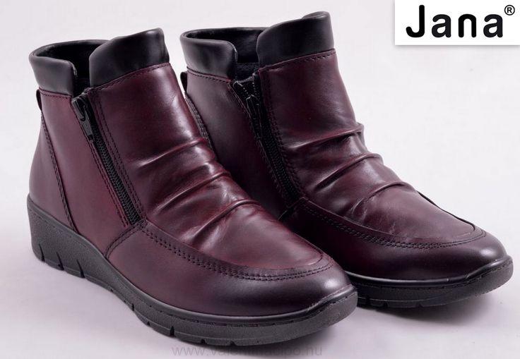 Jana bokacipő mind a kettő oldalán cipzár található, így segítve a kényelmes fel és levételt. A Jana bokacipő bélelt és relax gerinckímélő talpbetéttel biztosítja a komfortérzetet 😉  http://valentinacipo.hu/jana/noi/piros/bokacipo/147572441  #Jana #jana_bokacipő #jana_webshop #Valentina_cipőboltok