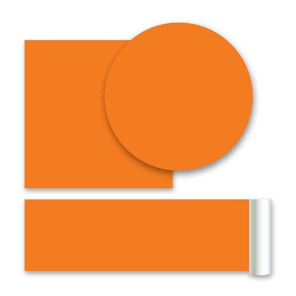 Totally Orange Wall Stickers