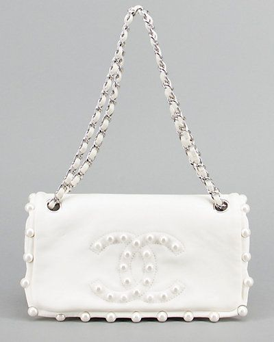 white chanel bags. chanel limited edition white pearl lambskin medium flap bagpm bags t