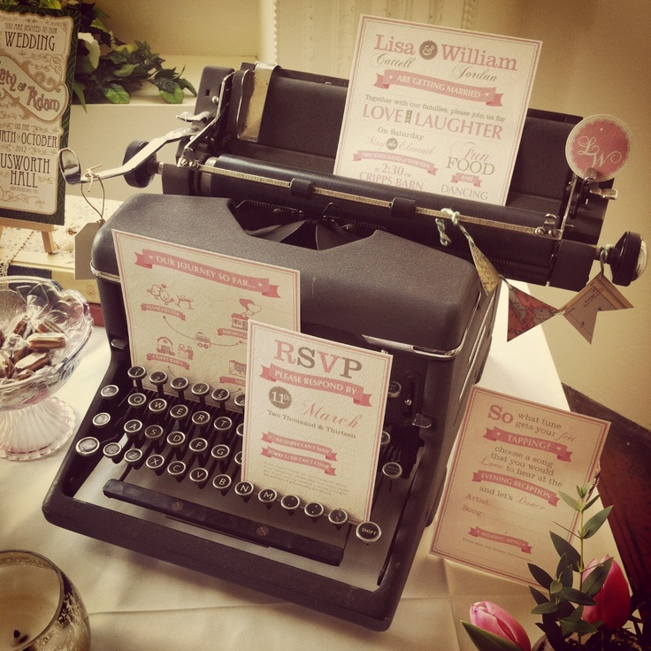 Wedding Stationery,Bonny and Clyde