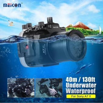 รีวิว สินค้า MEIKON SY-19 40m / 130ft Underwater Waterproof Camera Housing Black Waterproof Camera Case for Sony A7 II with Interchangeable Port Outdoorfree - intl ☏ ตรวจสอบราคา MEIKON SY-19 40m / 130ft Underwater Waterproof Camera Housing Black Waterproof Camera Case for Sony  คูปอง | discount code MEIKON SY-19 40m / 130ft Underwater Waterproof Camera Housing Black Waterproof Camera Case for Sony A7 II with Interchangeable Port Outdoorfree - intl  สั่งซื้อออนไลน์…