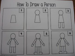 Kindergarten 12-13: How to Draw a Person