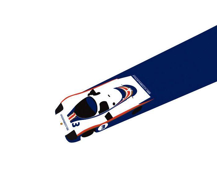 Racing Car Illustrations by Cale Funderburk | Inspiration Grid | Design Inspiration