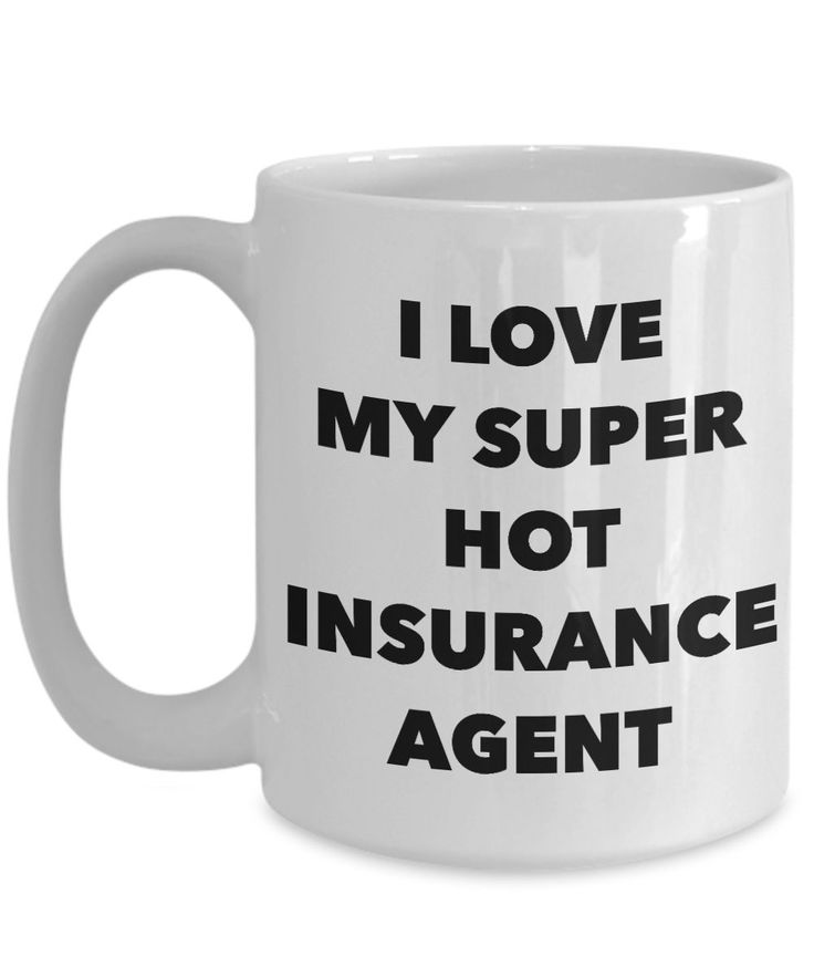 Anniversary/Love Coffee mug I LOVE MY SUPER HOT INSURANCE AGENT with good quality design and print. Crafted from the highest grade ceramic. Content + Care - Highest grade ceramic - Gently Hand Wash -
