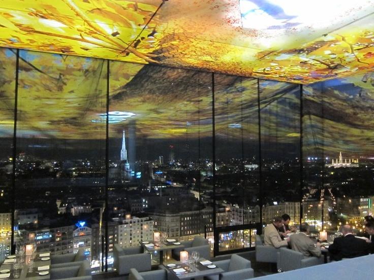 Bijzondere ervaring en bijzonder uitzicht restaurant Sofitel Stephansdom Wenen