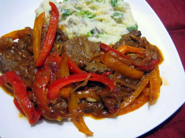 Recipe For Jamaican Pepper Steak | Caribbean Food | Pinterest | Steaks ...