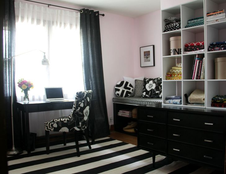 Decorate office jessica Make Behind The Scenes My Home Studio Apartment Decorating Ideas Home Home Office Pink Home Offices Pinterest Behind The Scenes My Home Studio Apartment Decorating Ideas