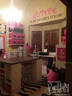 Prettify Your Life: Show Me Your Craft Room Blog Hop!